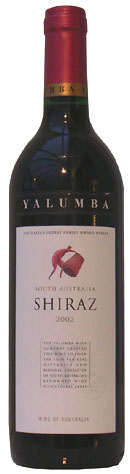 Yalumba 'Y' Series Shiraz 2002 75cl