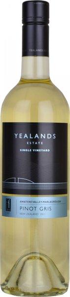 Yealands Estate Black Label Pinot Gris 2017/2018 75cl