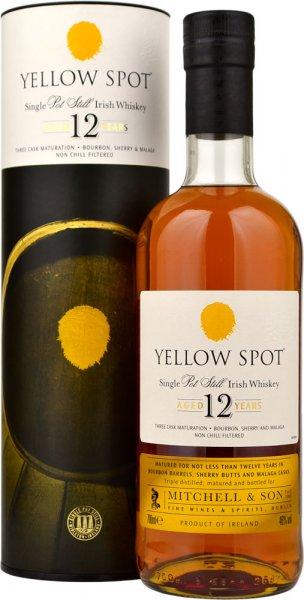 Yellow Spot 12 Year Old Single Pot Still Irish Whiskey 70cl